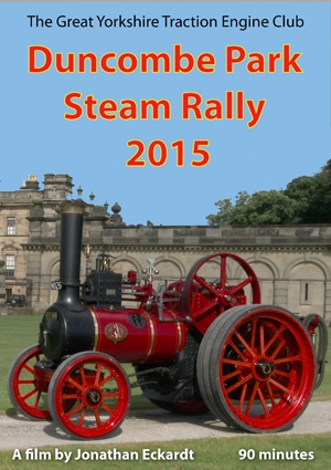 Duncombe Park Steam Rally DVD 2015